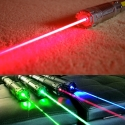 TITAN 635nm red laser pointer in action / TITAN 445nm 520nm 532nm 635nm family
