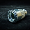 TITAN 445nm most powerful handheld focus adjustable blue laser pointer -10X beam expender -silver