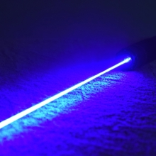 TITAN 462nm blue laser pointer in action top quality -military grade
