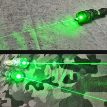 MAYA 520nm best quality handheld green laser pointer in action