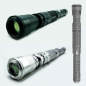 TITAN 405nm top quality 100mW ~ 400mW violet portable laser torch -with 10X beam expender