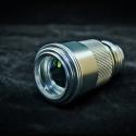 TITAN 405nm most powerful handheld focus adjustable purple laser pointer -10X beam expender -silver