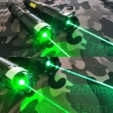 800mW 532nm vs 1000mW 520nm green portable laser beam
