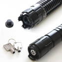 TITAN 520nm strongest handheld focus adjustable green laser pointer -black shell in detail