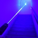 TITAN 445NM BLUE LASER- 2W Blue laser in action