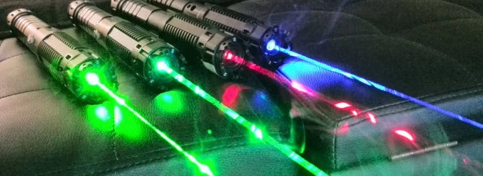 TITAN series portable laser pointers